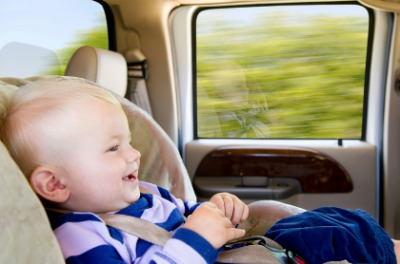 Taxi with child seat to Font de Sa Cala