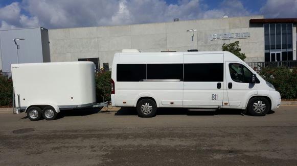Bus from Palma de Mallorca airport.