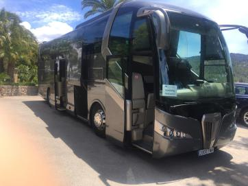Bus from Majorca PMI airport.