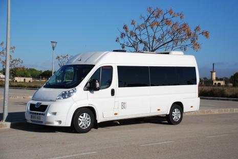 Mallorca airport bus service.