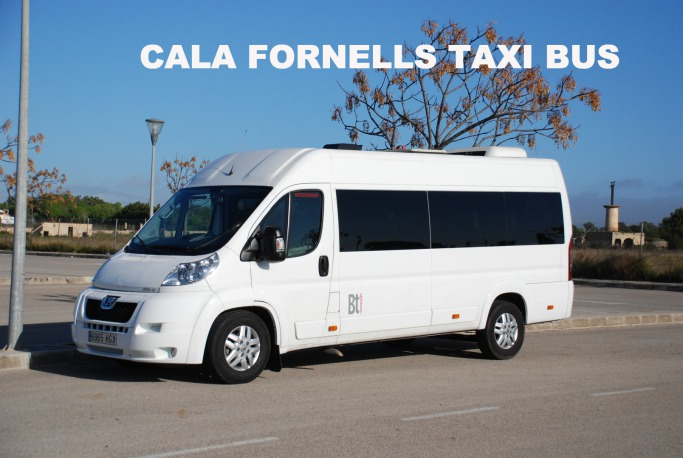 Mallorca taxi transfers to Cala Fornells