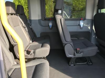 Majorca airport taxi bus to Cala Mandia