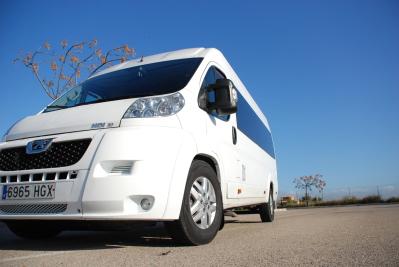 Mallorca Taxi Bus to Cala Rajada.