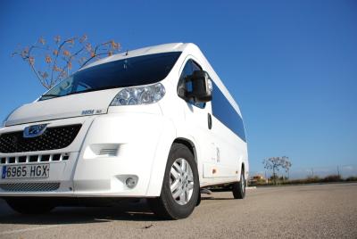 Mallorca Taxi Bus to Cala Vinyes.