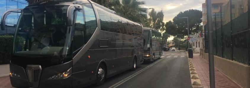 Bus from Mallorca airport to Santa Ponsa