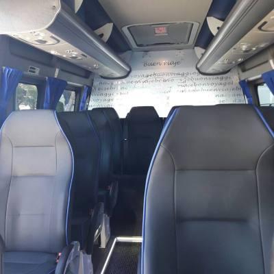 Private and direct minibus to Cala Ferrera