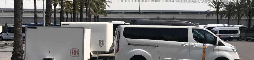 Taxi to Rafa Nadal academy in Manacor