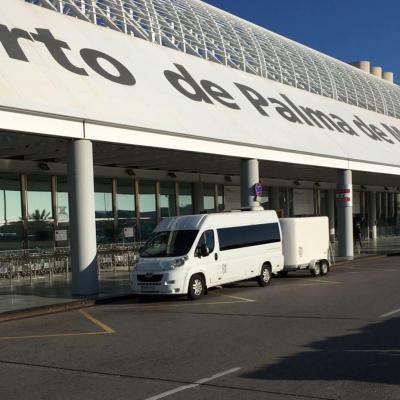 Palma de Mallorca airport taxi with bicycles to Torrenova