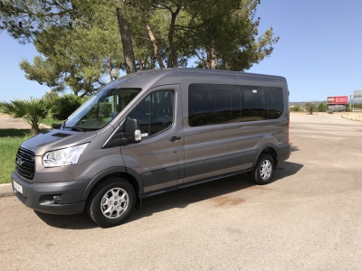 Mallorca airport mini-coach for 5,6,7,8 persons