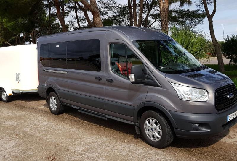 Minibus to Hotel Sol Cala Antena