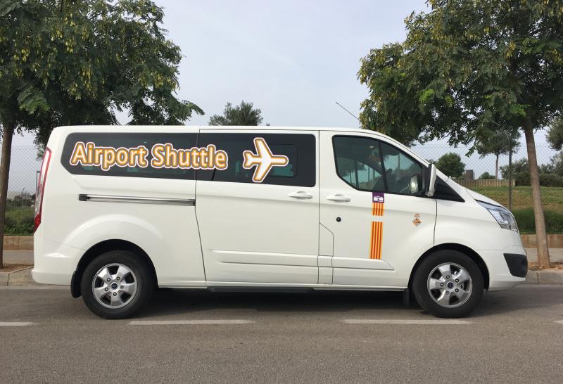 Taxi and transfers to Hotel HPB Biniorella